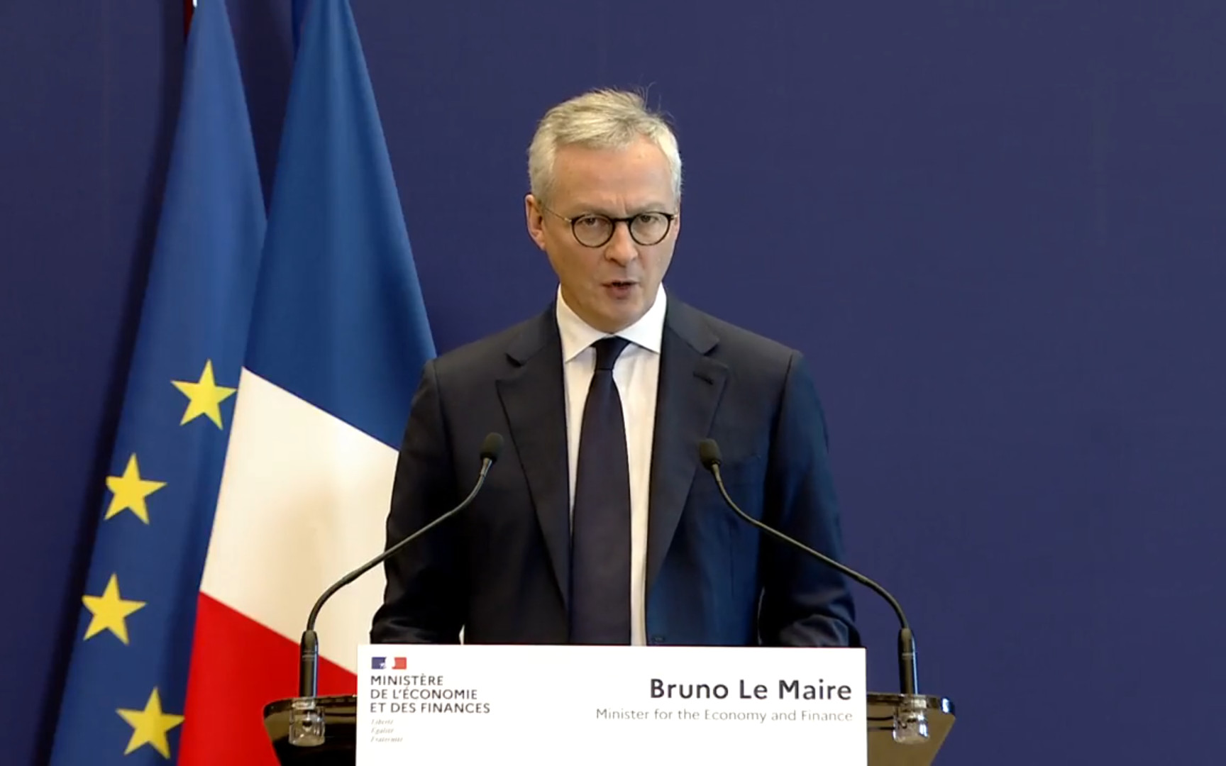 Annonce de Bruno Le Maire